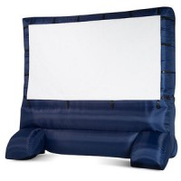 Deluxe Outdoor Inflatable 12 Foot Movie Screen for $188