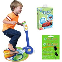LeapFrog Zippity Learning System, AC Adapter & Game Value Bundle for $45