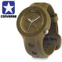 Converse Rookie Series Icon Edition Olive Green Watch for $37