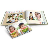 5x7 Soft Custom Cover Quick Photo Book for $9