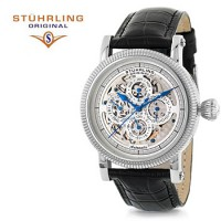 Stuhrling Original Symphony Maestro II Automatic Multifunction Watch for $87