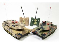 Infra-Red Laser Battle Remote Control RC Tank Set for $44.99 + Free Shipping