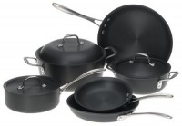 Calphalon DS9DC Commercial 9-Piece Hard-Anodized Cookware Set for $250 Shipped
